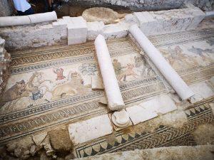 Continuación de excavación por mosaico de caza de Villa Romana de Salar