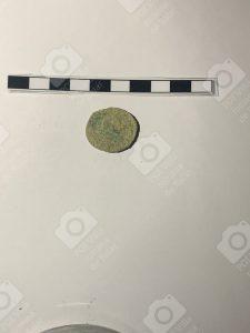Reverso moneda tardía del siglo IV encontrada en la Villa Romana de Salar