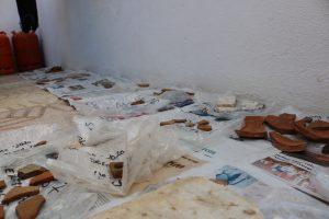 Orden y trabajo post excavación
