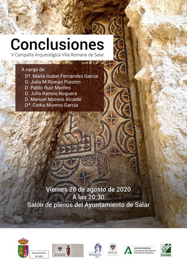 Conclusiones V campaña Arqueológica Villa Romana de Salar