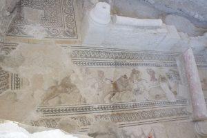 Limpieza del nuevo mosaico