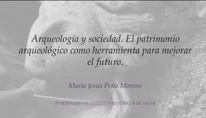 Arqueología y sociedad.
