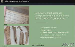 """Estudio antropológico de """"Cerro del Castillon"""" Montefrío. Poniente Granadino"""