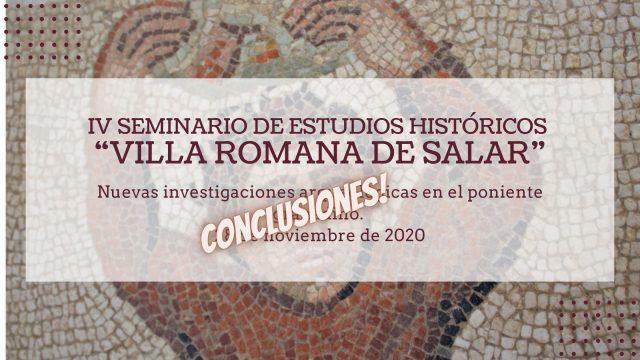conclusiones Iv seminario de estudios históricos de Salar
