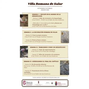 Actividades Culturales Villa Romana