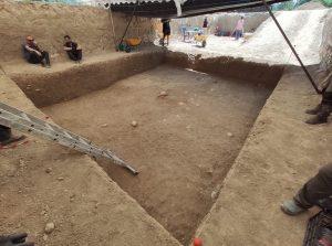 Primera semana de excavación