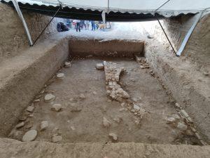 Estado de la excavación a fecha 16 de Agosto de 2021