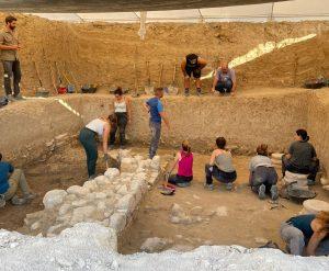 Equipo de la VI Campaña Arqueológica Villa Romana de Salar