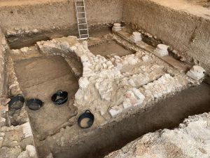 24 de agosto nuevas estructuras en la Villa Romana de Salar